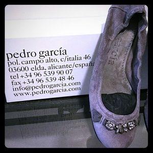 Pedro Garcia Style India Grey  Swarovski Crystals
